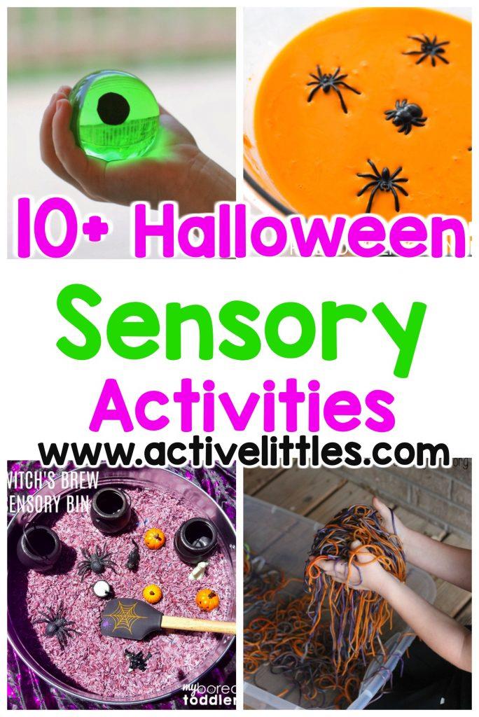 halloween sensory activities