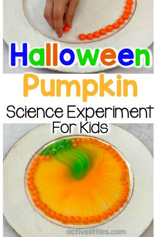 Halloween Pumpkin Science Experiment for Kids