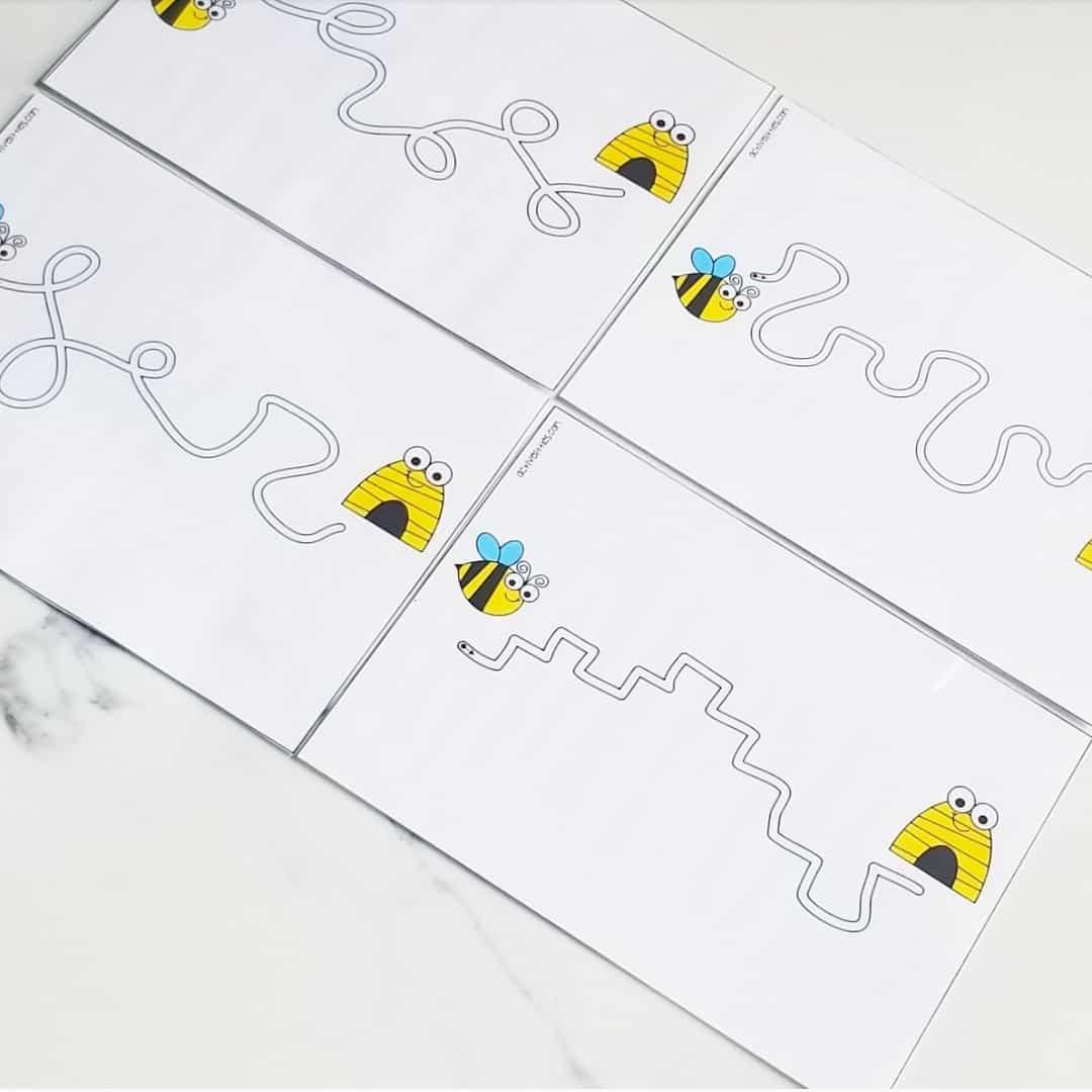 maze printables for kids