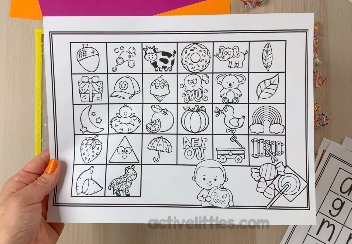 preschool free printable