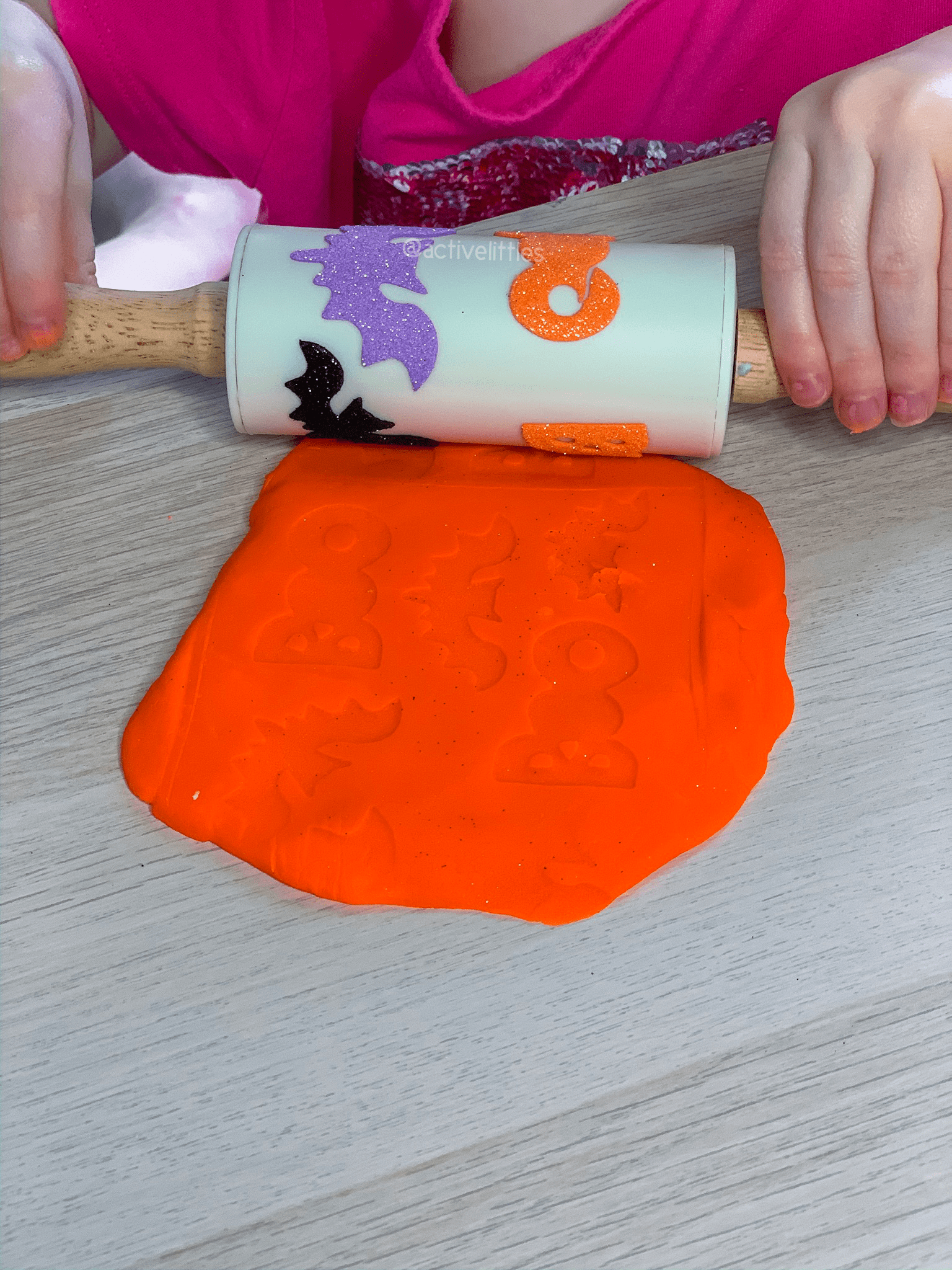 rolling pin diy for halloween