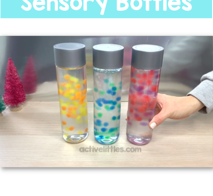 Water Bead Calming Sensory Bottles
