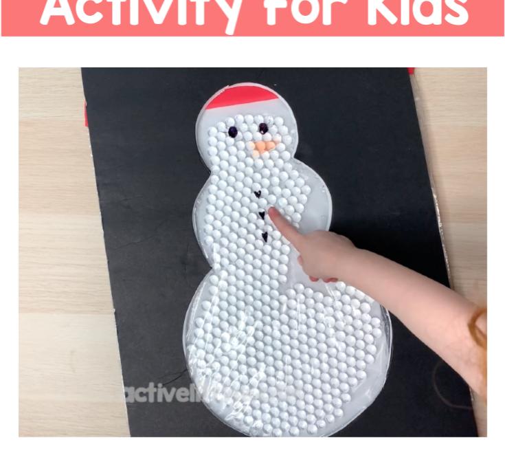 SnowmanSensory Play DIY