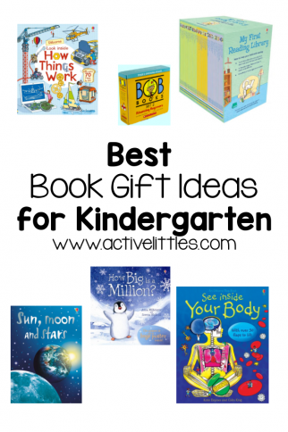 Best Book Gift Ideas for Kindergarten