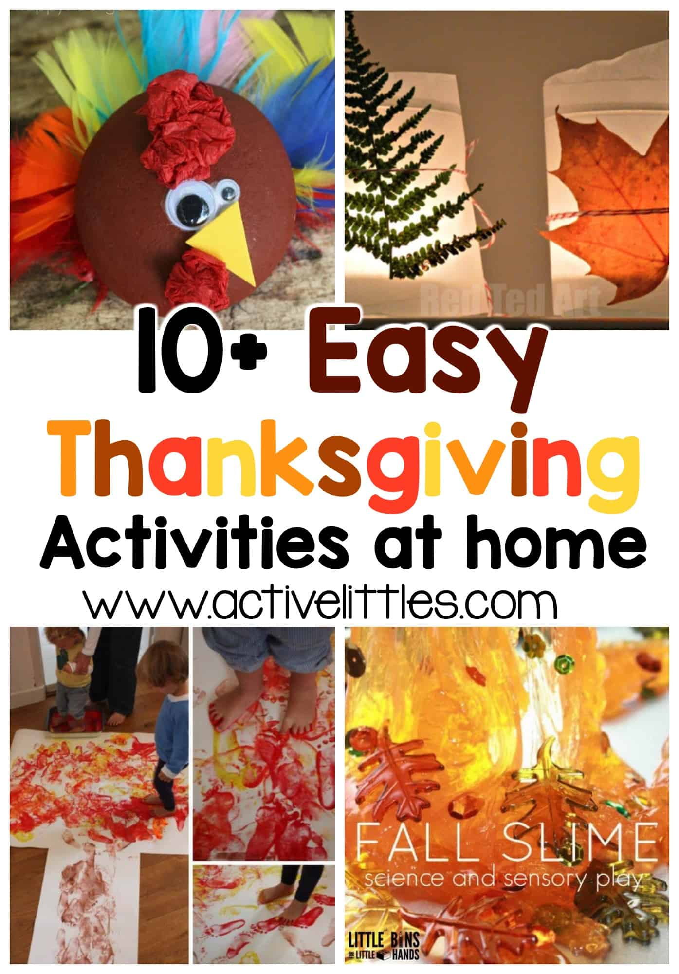 easy thanksgiving activities at home