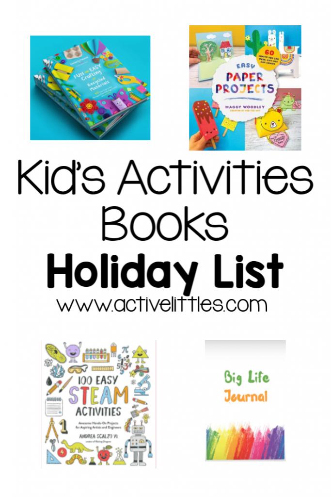 kids activities books