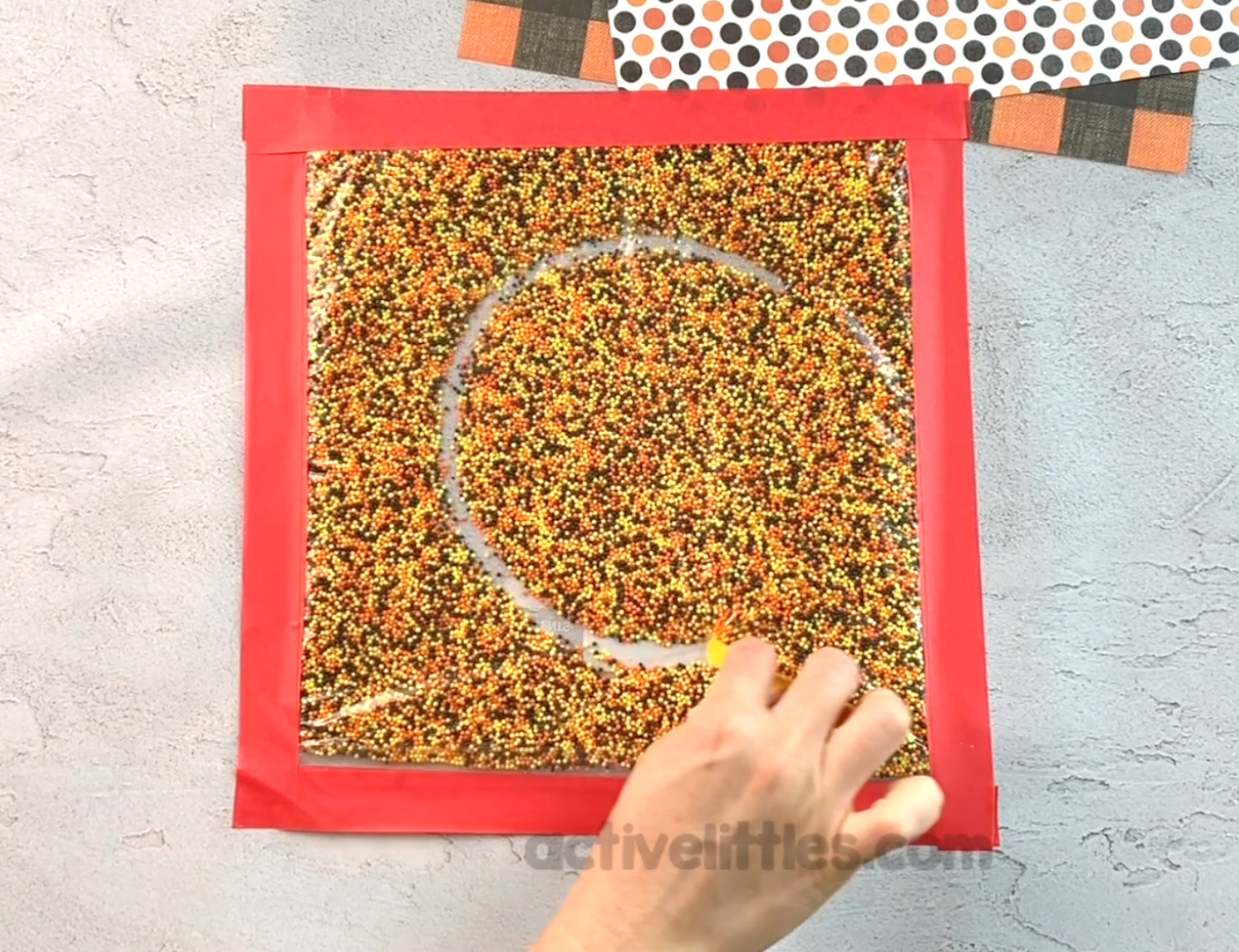 sprinkle bag learning activity for kids