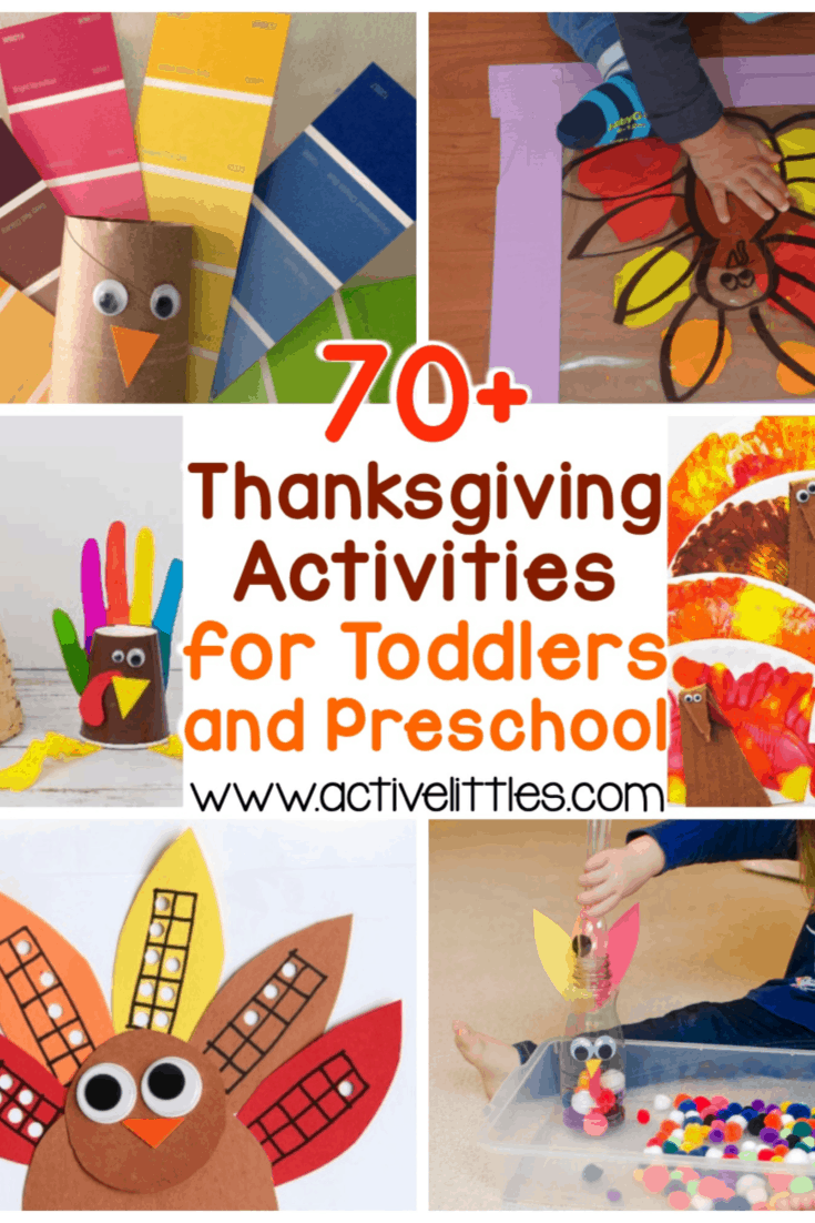 70 Thanksgiving Activities For Toddlers And Preschool Active Littles
