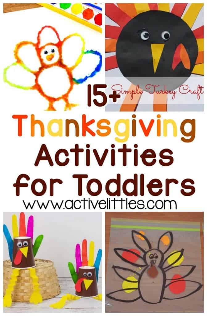 70+ Thanksgiving Activities For Toddlers And Preschool - Active Littles