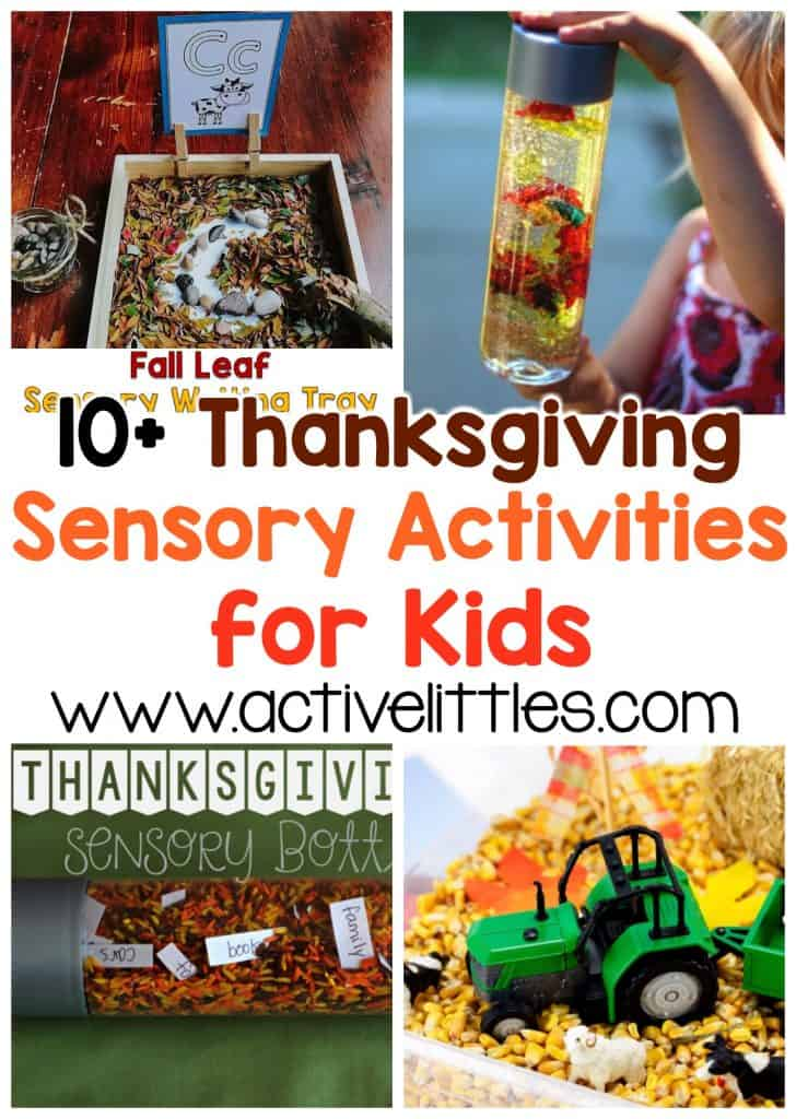 thanksgiving sensory activities for kids