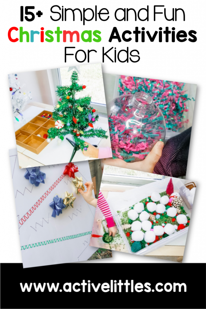 Simple and Fun Christmas Activities