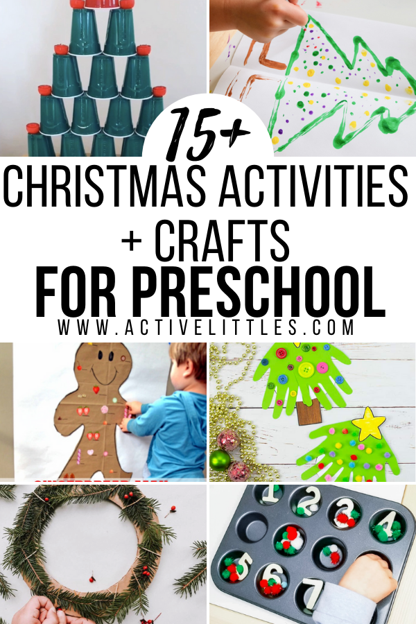 Christmas Activities and Crafts for Preschoolers