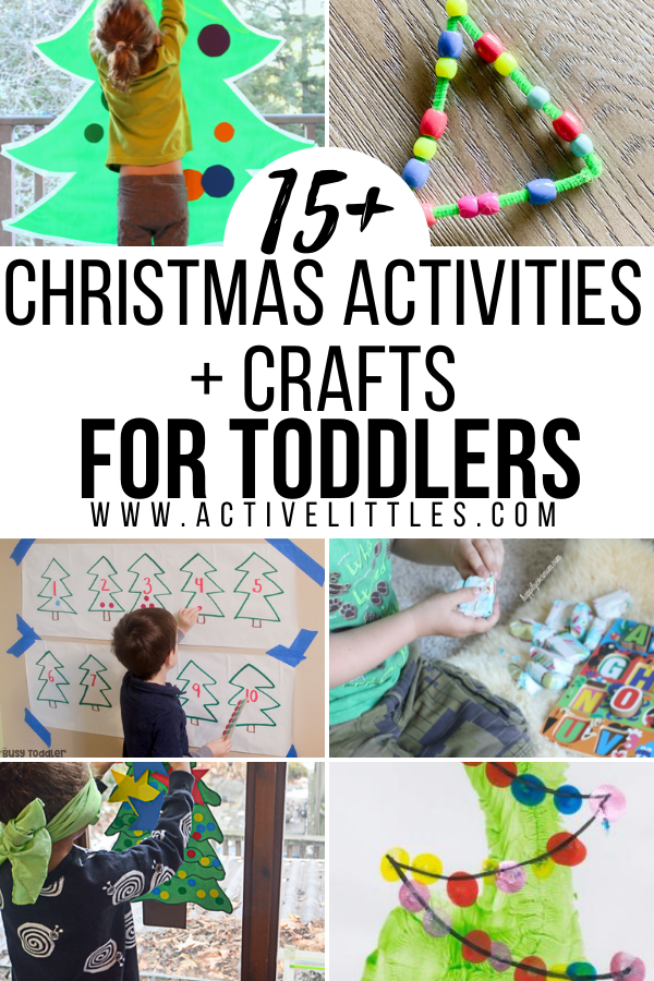 Christmas Activities and Crafts for Toddlers