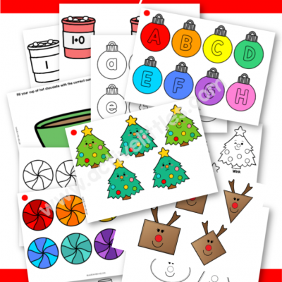 Christmas Activity Binder Printable