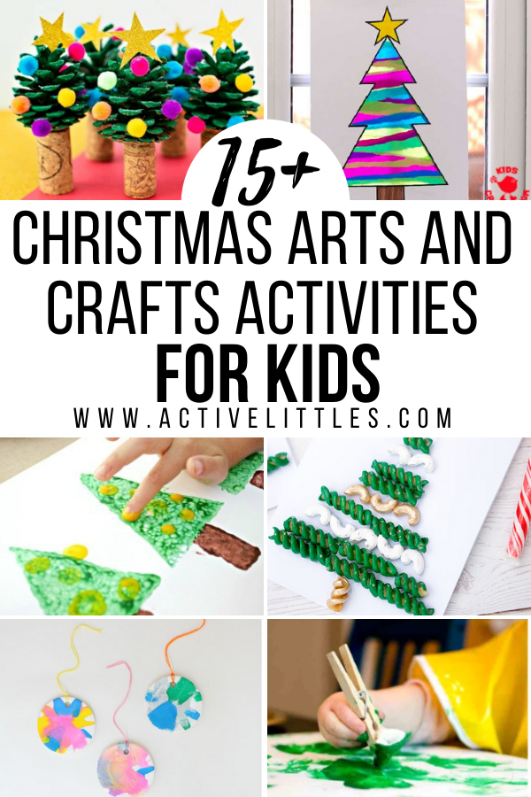 Christmas arts and crafts activities for kids