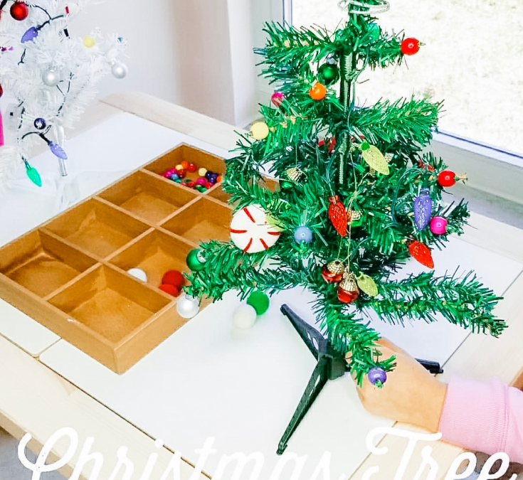 3 Decorate a Christmas Tree Toddler Activities