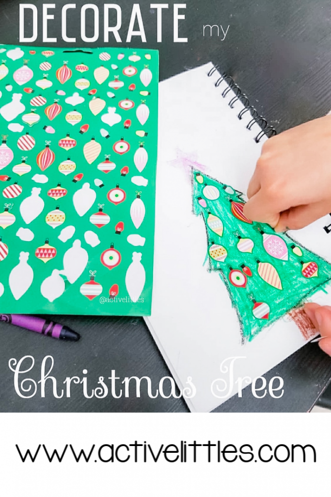 Decorate a Christmas Tree Activity