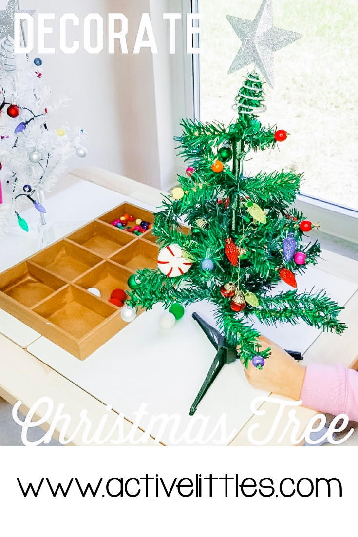 3 Decorate A Christmas Tree Toddler Activities Active Littles