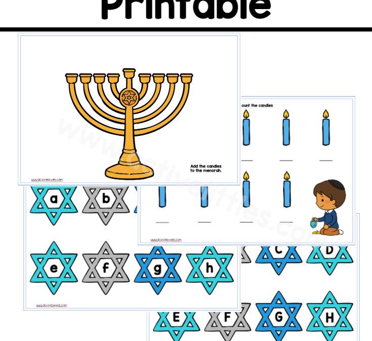 Hanukkah Learning Binder Free Printable