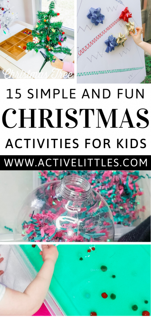 Over 15 Christmas Activities for Kids