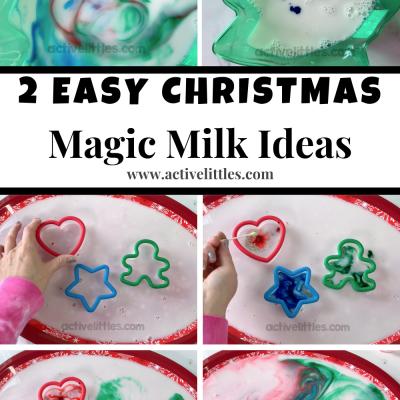 christmas magic milk for kids at home