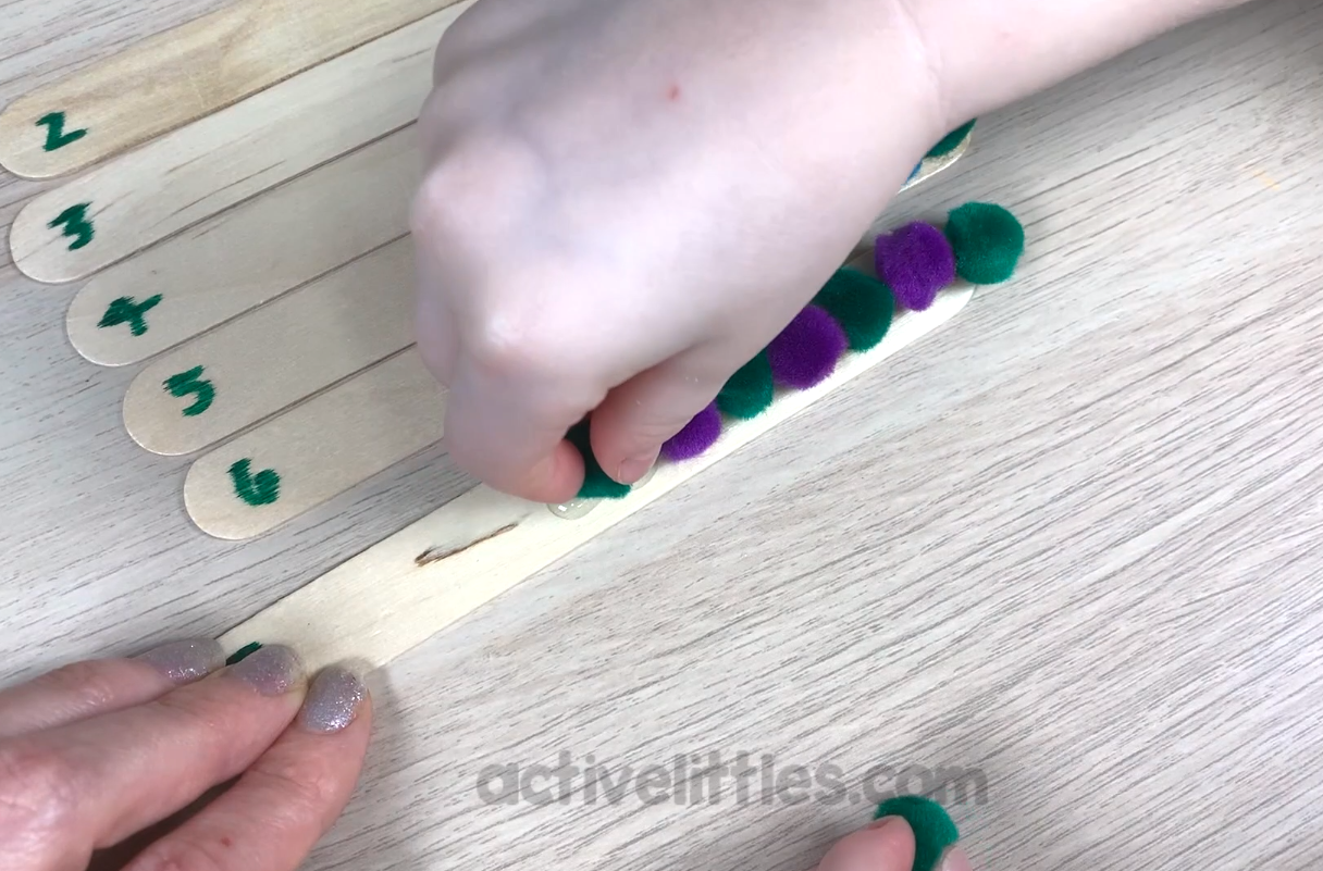 counting activity for kids