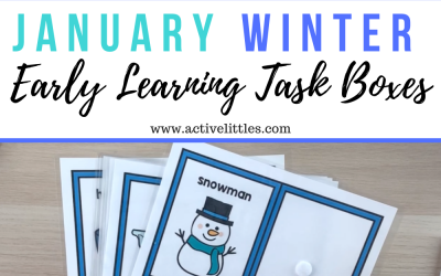 Early Learning Winter Task Boxes