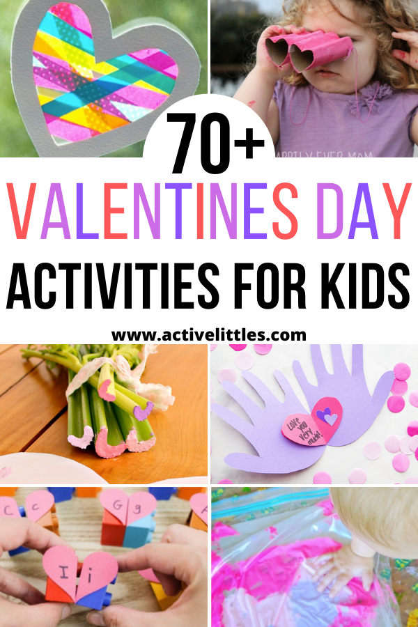 Over 70 Valentines Day Activities and Crafts for Kids