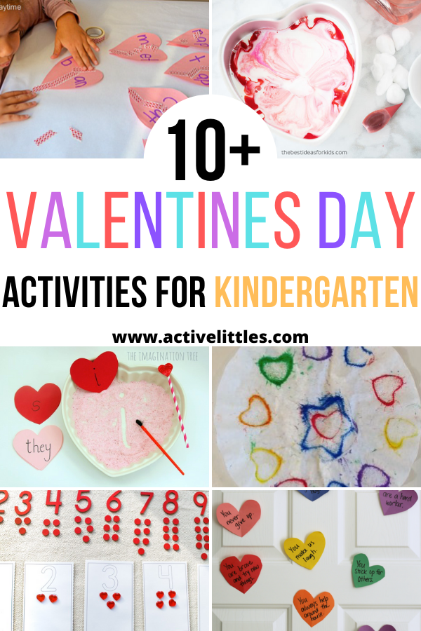 Valentines Day Activities for Kindergarten