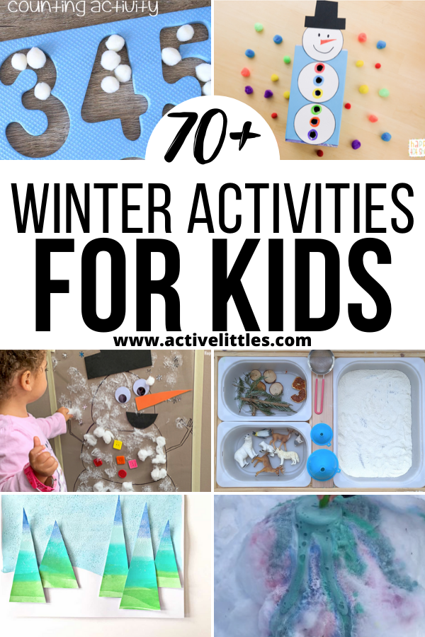 Winter Activities for Toddlers Preschool and Kindergarten