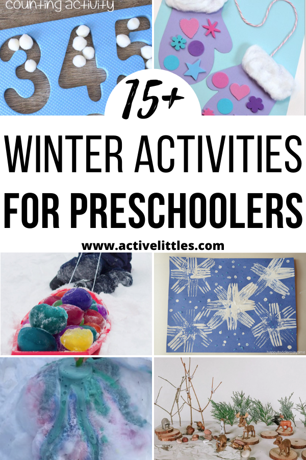 Winter Activities for Preschool