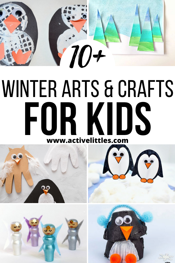 Winter Arts and Crafts for Kids