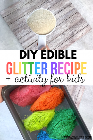 How to make Edible Glitter Recipe