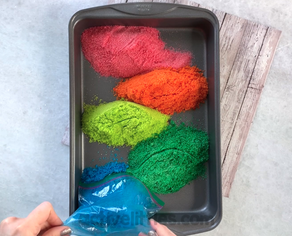 early learning edible glitter