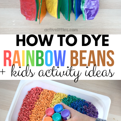 how to make rainbow beans