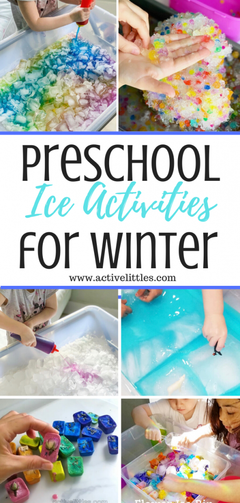 ice activities for preschoolers