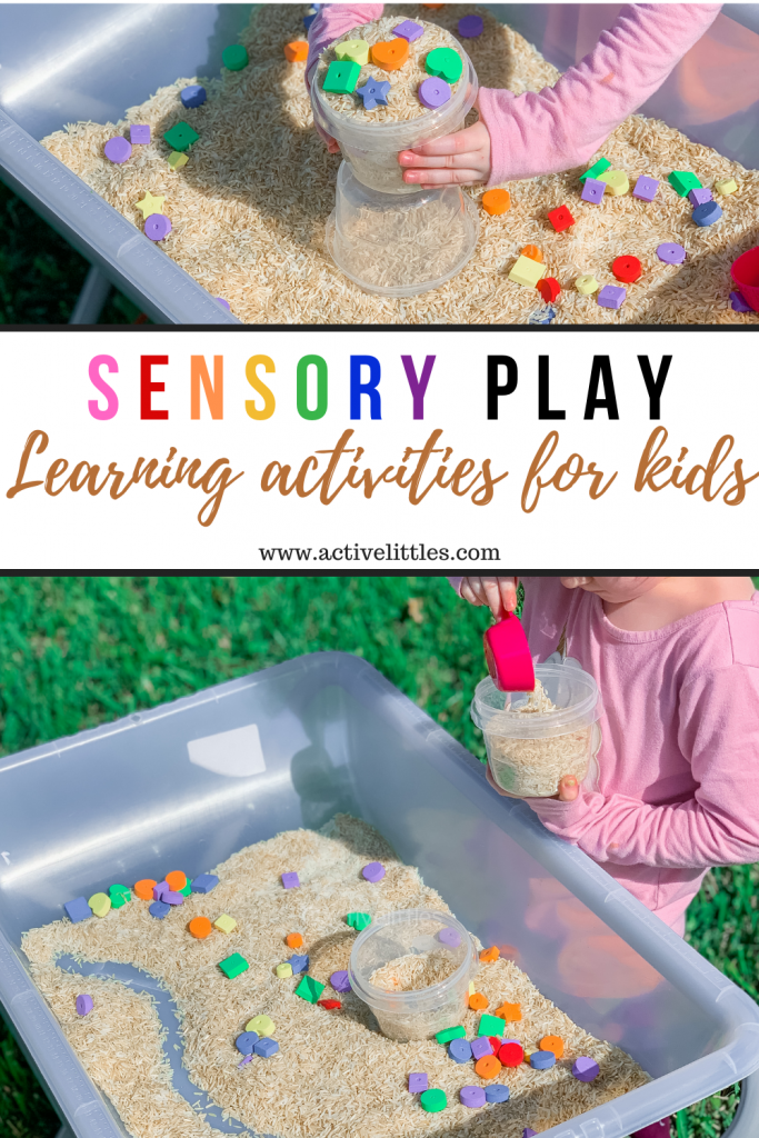 rice sensory bin learning activity