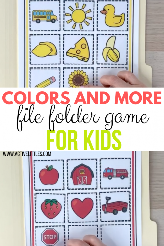 Colors and more printables for kids