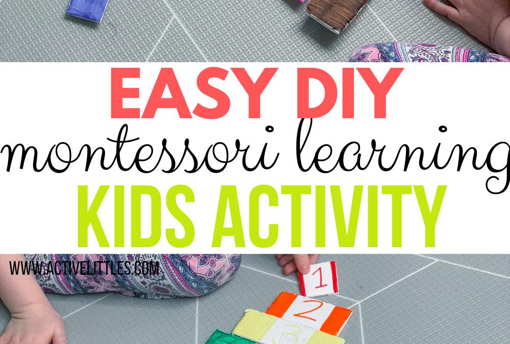 Easy DIY Montessori Learning Puzzle