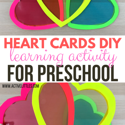 heart cards diy play to learn for preschool