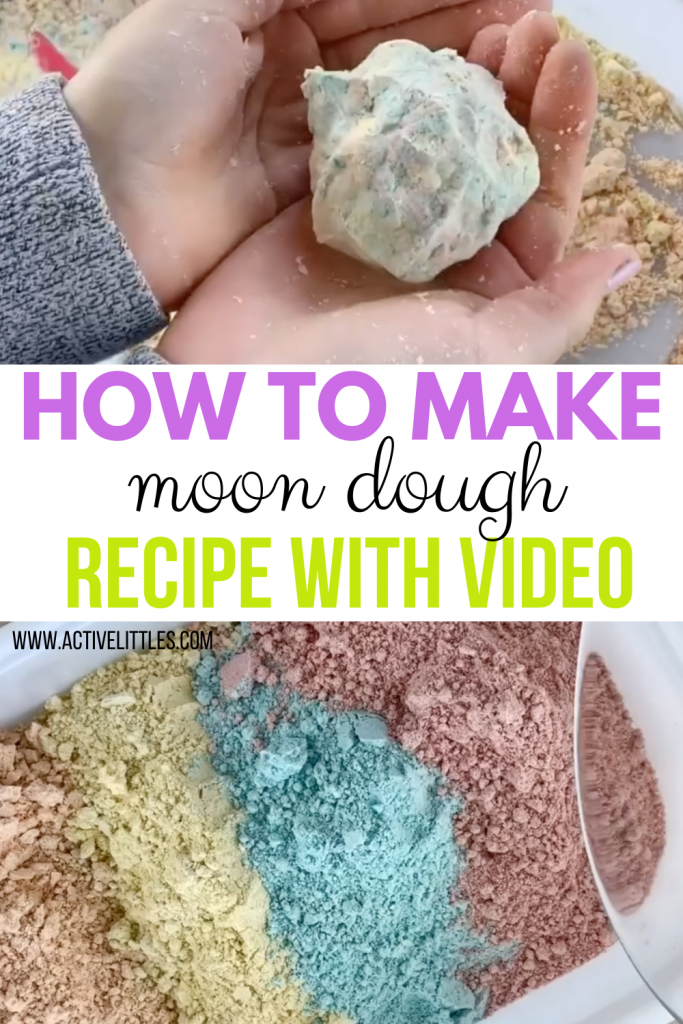 how to make cloud dough recipe