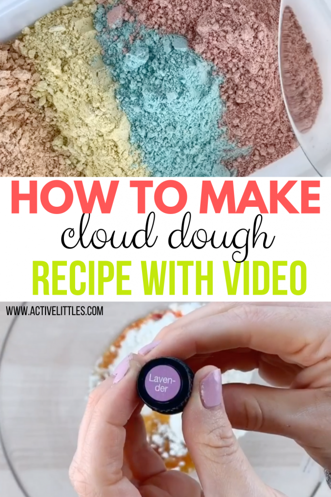 how to make moon dough recipe