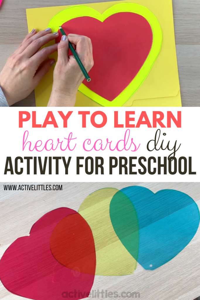 play to learn activities for preschool