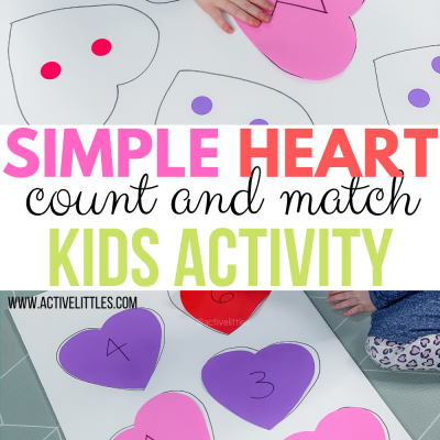 simple heart count and match activity for kids