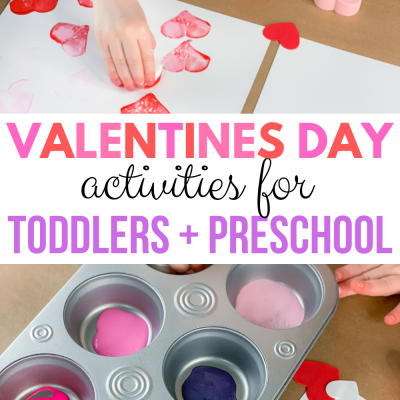 valentines day ideas for toddlers and preschool