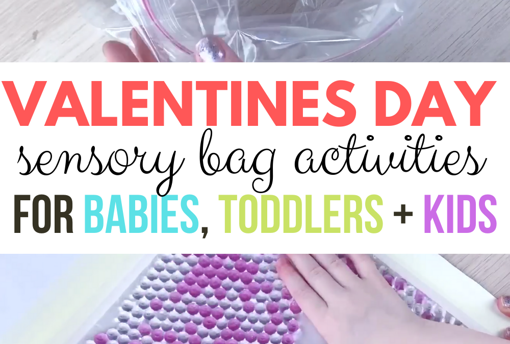 Valentines Day Sensory Play Kids Activity