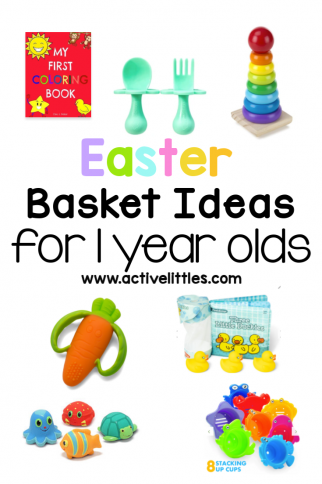 Easter Basket Ideas for 1 year olds