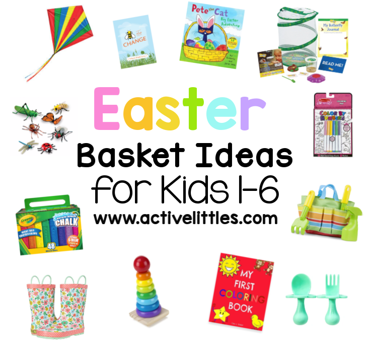 Easter Basket Ideas for Kids + Over 100 Non Candy Easter Egg Fillers for Kids Printable
