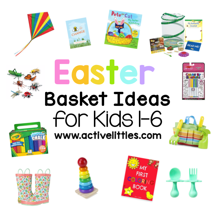 Easter Basket Ideas for Kids + Over 100 Non Candy EasterEgg Fillers for Kids Printable