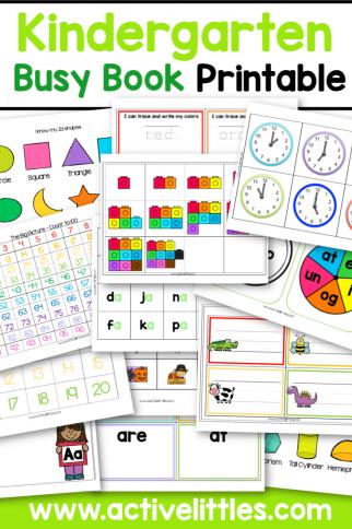 Kindergarten Busy Book – How I taught my Kindergartener to Read